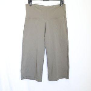 Lululemon Wide Leg Cropped Yoga Pants 8